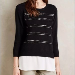 Angel of the North Anthropologie Dovie Sweater
